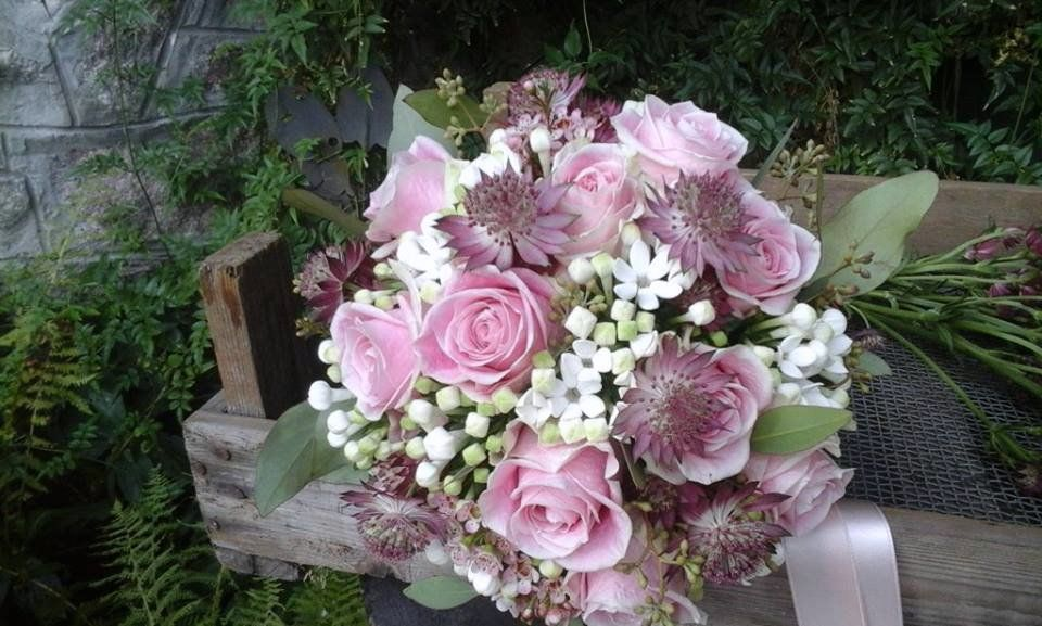 Bridal bouquet created by Giuseppina Comoli