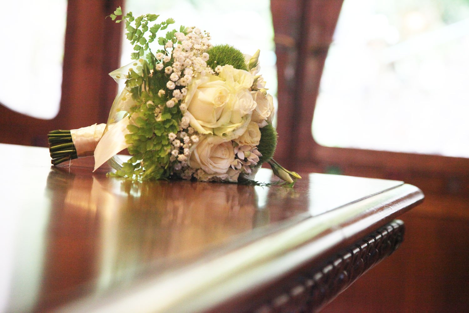 Bridal bouquet created by Giuseppina Comoli the floral designer