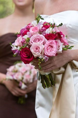 Bouquet for a Lake Maggiore wedding created by Giuseppina Comoli