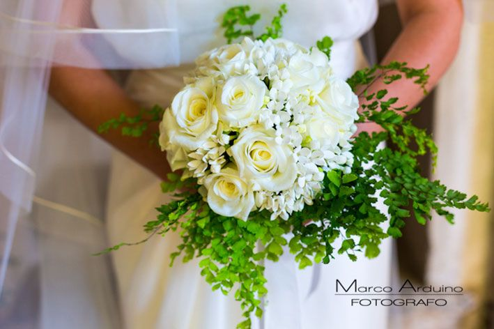 A Lake Maggiore wedding bouquet created by Giuseppina Comoli