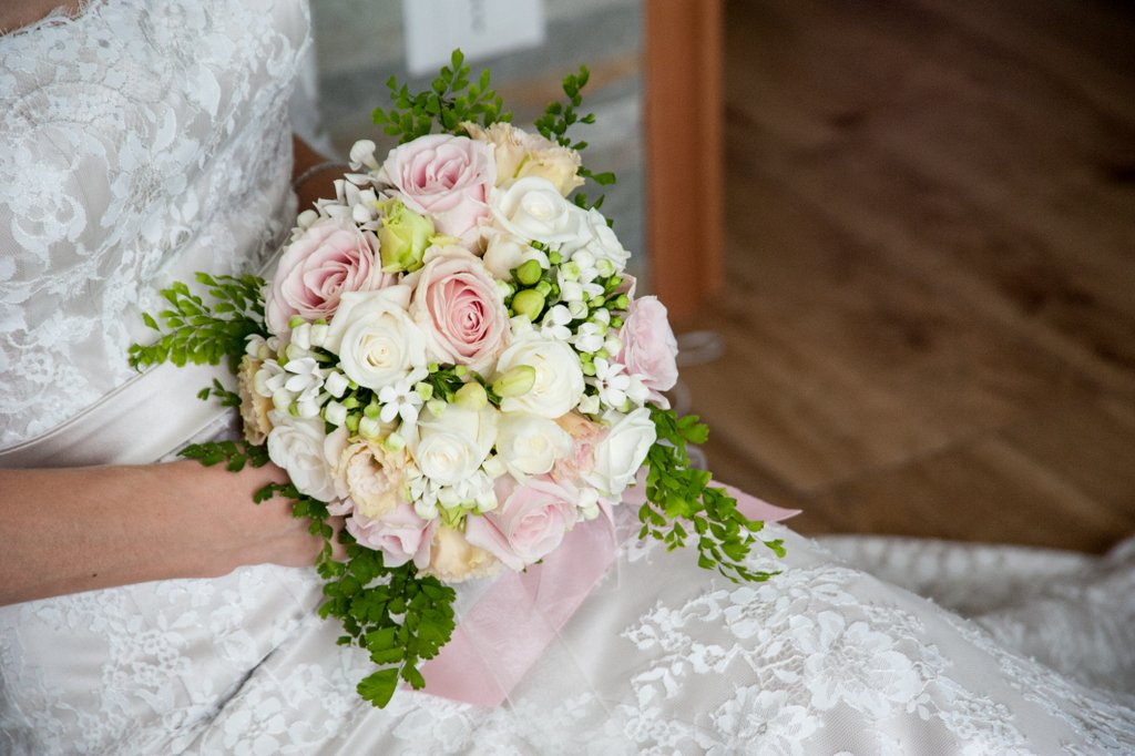 Bouquet created by Giuseppina Comoli