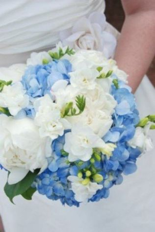 Bouquet with hydrangea