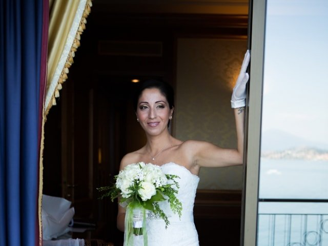 Bridal bouquet made by Giuseppina Comoli