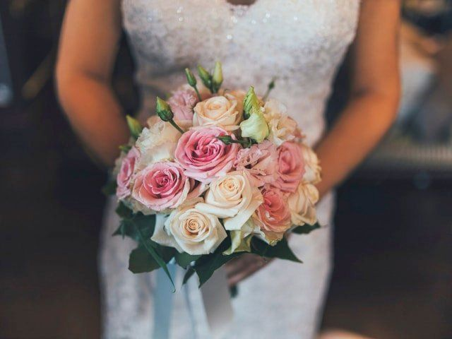 Bouquet for the bride with Roses