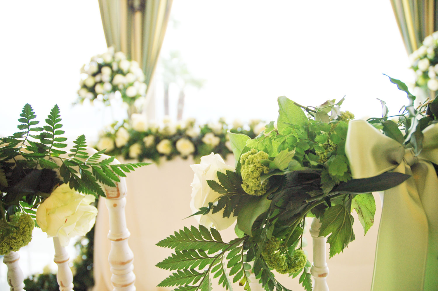 Floral composition for a civil wedding by Giuseppina Comoli