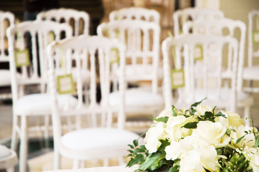 Floral arrangements for a wedding on Lake Maggiore by Giuseppina Comoli